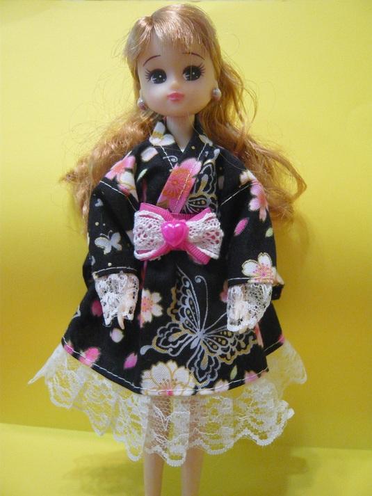 リカちゃん ゆかたドレス B-27
