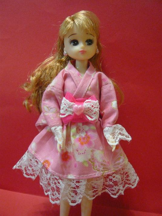 リカちゃん ゆかたドレス B-28