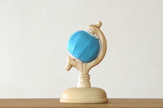 球儀の針刺し(青)