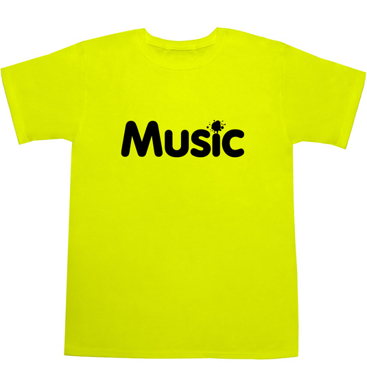 Music Tシャツ
