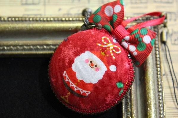 マカロンポーチ(クリスマス:2☆レッド)