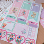 【stickers for Planner】 A5シール