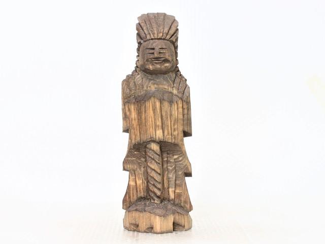 円空仏 摸刻:護法神(高さ:20センチ ...
