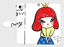 Nobby手帳型iPhoneケース「MY LITTLE GIRL」
