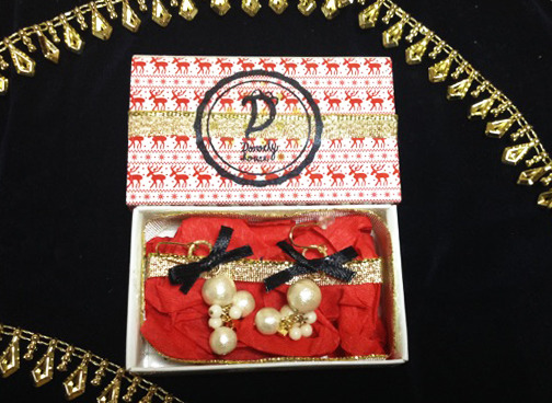 X'mas BOX 2014/pearl drops<black>