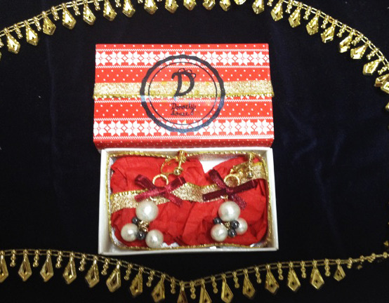 X'mas BOX 2014��pearl drops<red>