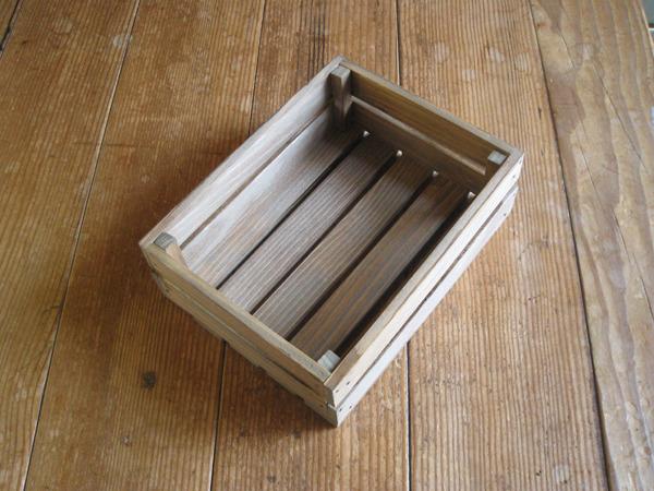 木製ハガキ大ケース/ウォールナット