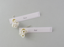席札FES☆[ name plate/white ]for wedding1セット10枚-席札