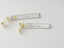 席札FES☆[ name plate/glay ]for wedding1セット10枚-席札