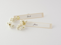 席札FES☆[ name plate/beige ]for wedding1セット10枚-席札