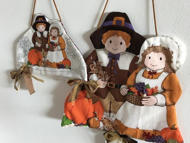 モチーフタペストリー『感謝祭おめでとう』