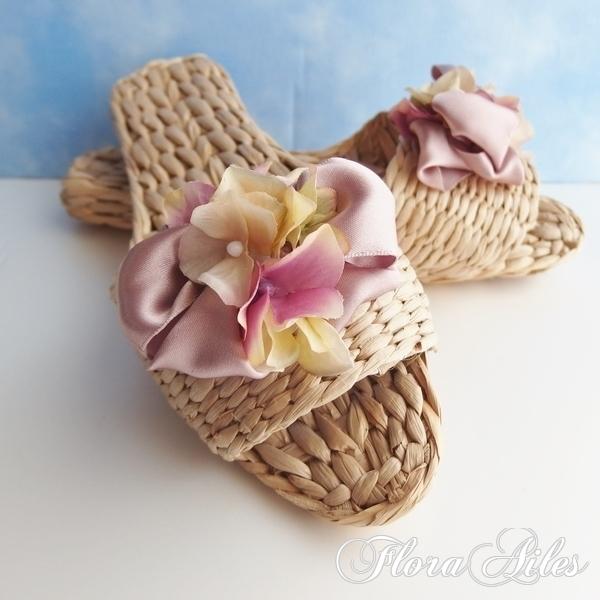 涼しい♪フランスリボンと紫陽花で優し...
