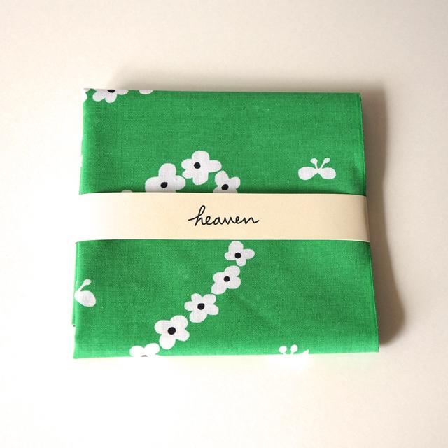 humming hreart てぬぐい (緑)