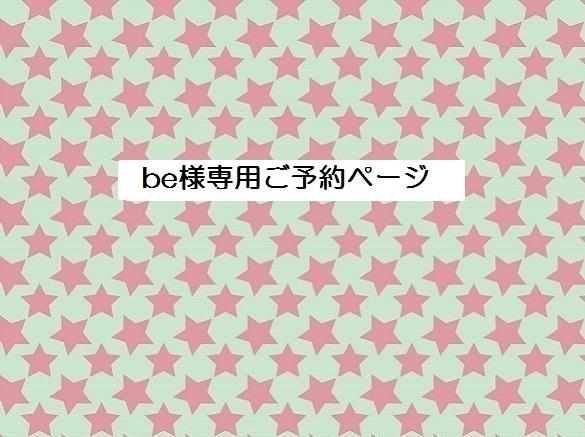 be様専用オーダーページ B5サイズチュ...