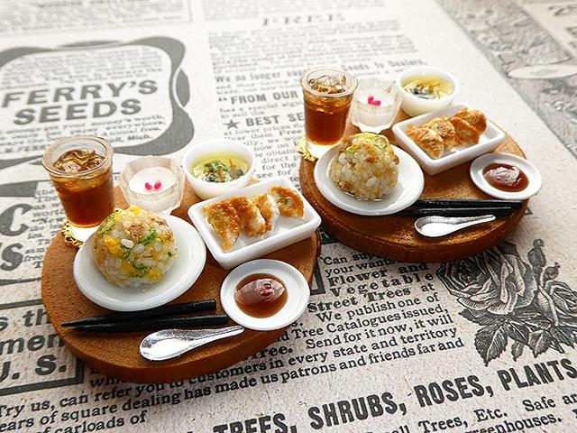 【受注制作】炒飯と餃子のランチセット