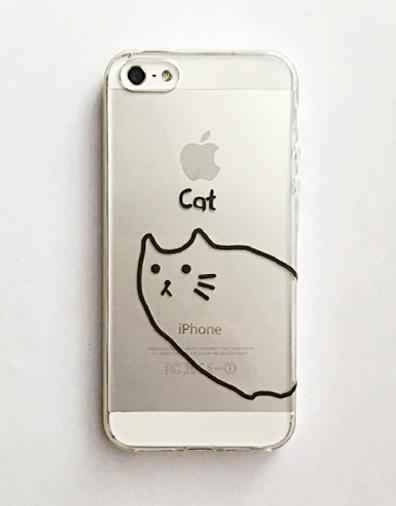 iPhone5/5s/SE ケース【Cat】