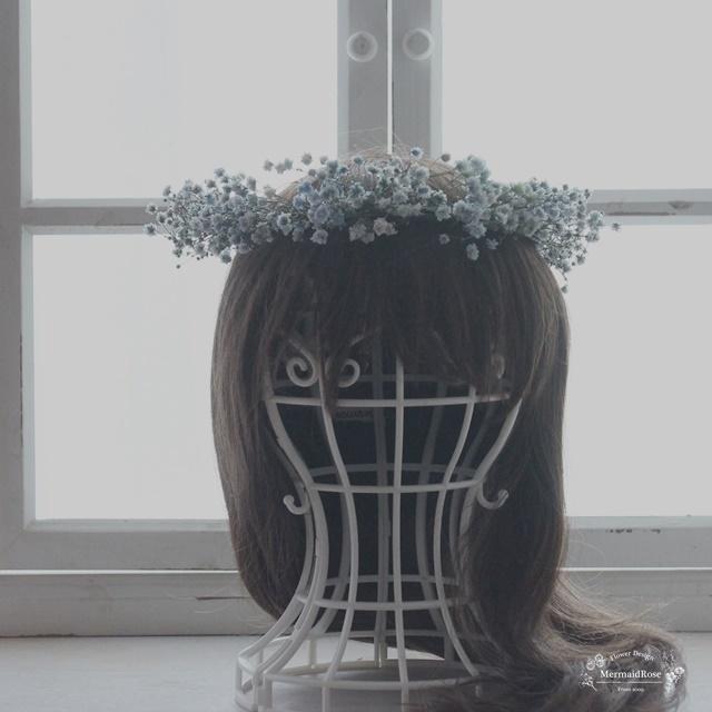 【試作品】花冠ラスティックかすみ草(ブ...