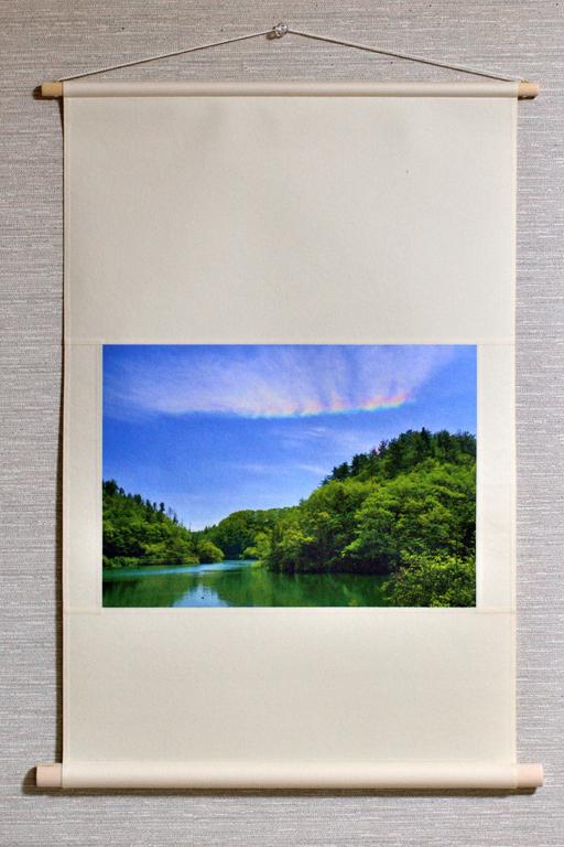 壁掛け 空・雲シリーズ「彩雲」