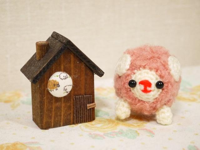 羊さん(ピンク・小)