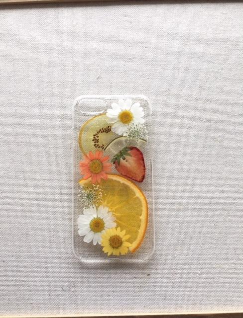 iphone7/6/6s用  押しフルーツのスマホ...