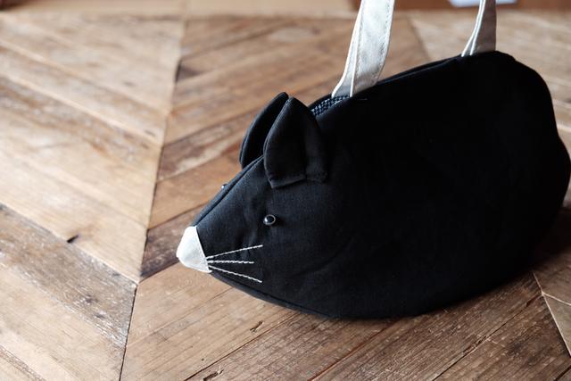 ねずみバッグ   Black