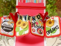 Pop Up Card 'Hello Friend'