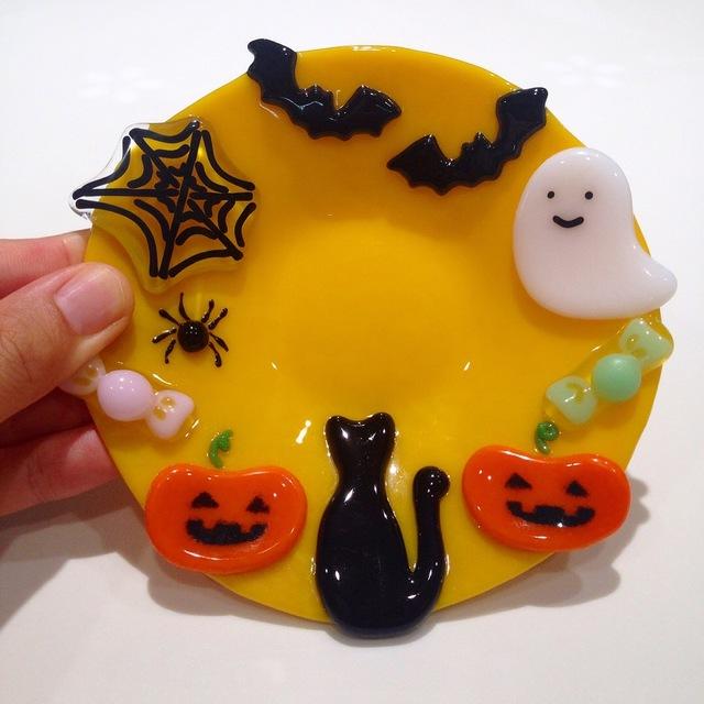 『ハロウィン』なお皿