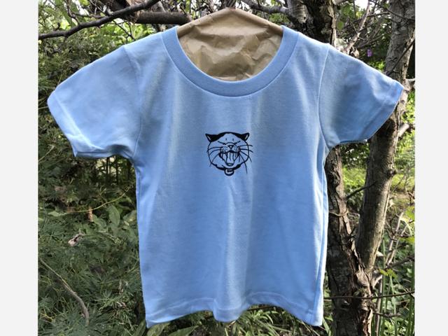 あくびねこキッズTシャツ(サイズ100)