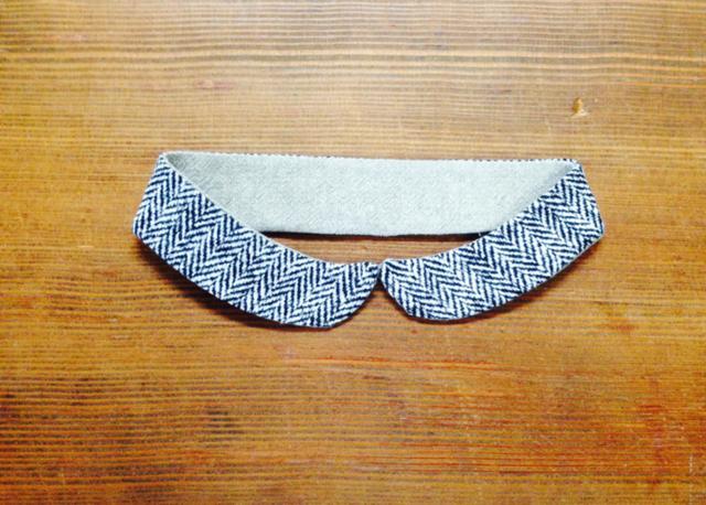 (再販!)小さめ丸襟の付け襟k