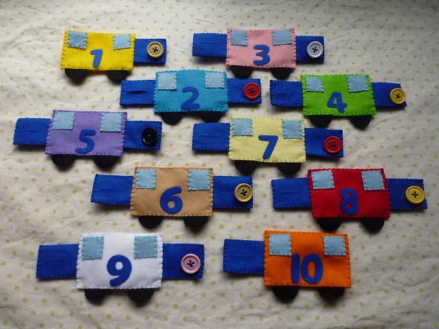 <再販15>数字の電車