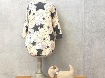 dog-MS*星空*長袖Tシャツ