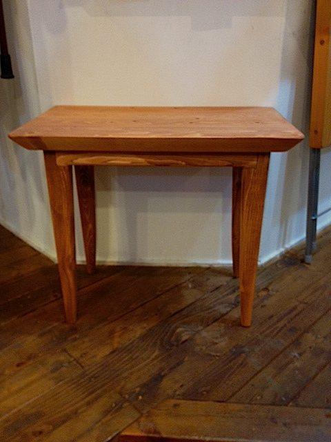 無垢材 サイドテーブル
