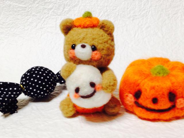 ハロウィン♪おばけちゃんとかぼちゃパ...