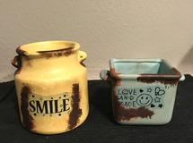 サビ加工 陶器 鉢 プランター