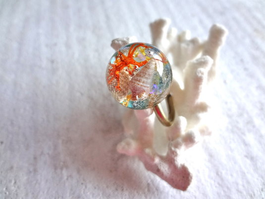 <SOLD OUT>     Seascape Ring M