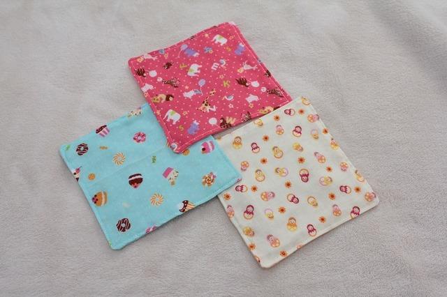 再販2☆赤ちゃんのためのガーゼ 3枚セット