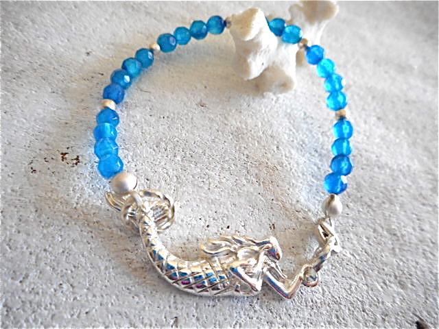 Swimming Mermaid Bracelet  海で泳ぐマーメイドブレスレット