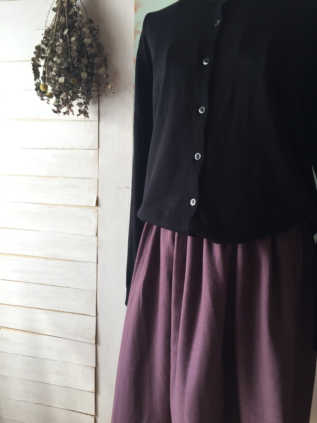 【新色】大人カワイイギャザースカート ...