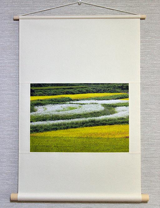 壁掛け 田んぼシリーズ「稔の秋」