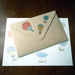 Letter Set Balloon(レターセット)