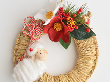 """SHIMENAWA"" wreath 2015 お正月飾り"