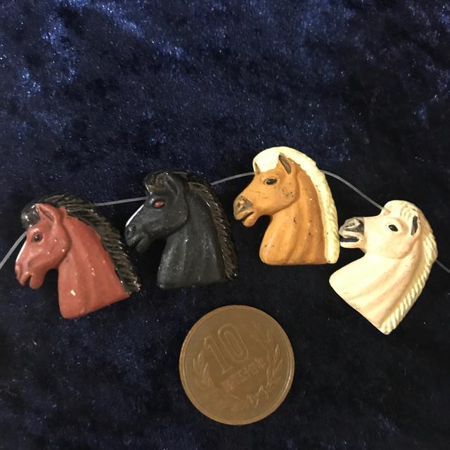 メキシコ製ビーズ  noble horse  Lサイズ