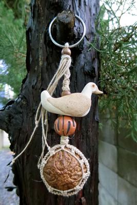 五仏菩提樹のキーホルダー