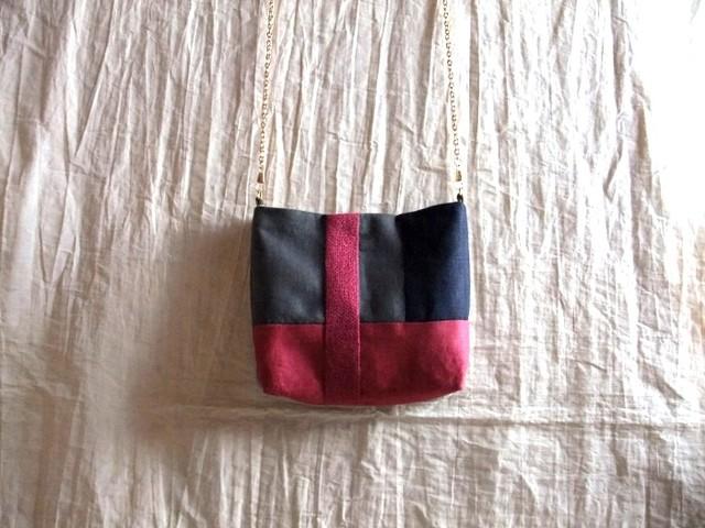 itoiro pochette (pink navy)