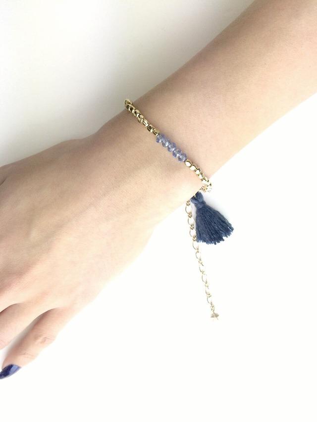 ☆sale☆tassel charm bracelet☆全3色☆