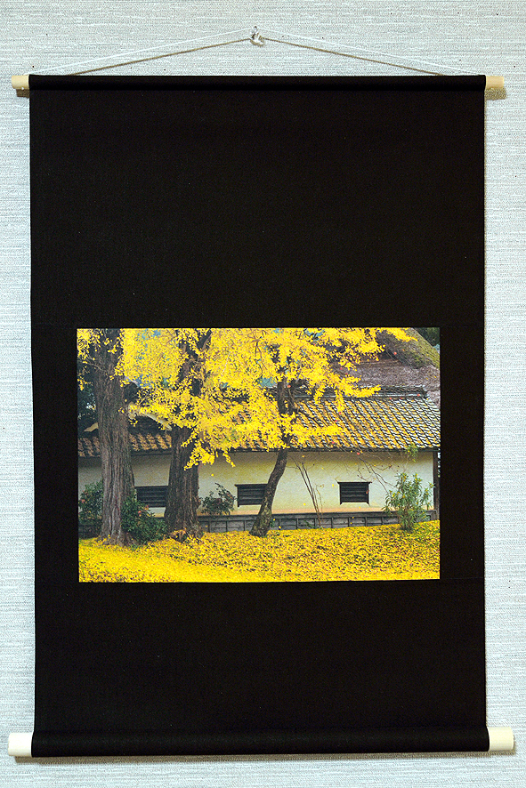壁掛け 紅葉シリーズ「木の葉舞う」