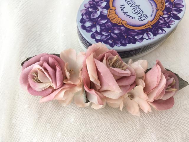 sweet rosesバレッタ