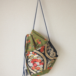 SALE!! Nostalgic Obi knapsack bag (no.061)