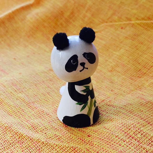 こけし(パンダ)