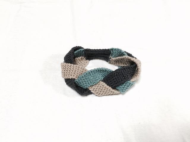三つ編み ヘアバンド